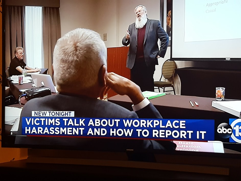 ABC News Event: Joe Bontke lectures on EEOC at Manousso Mediation Basic Training November 2016